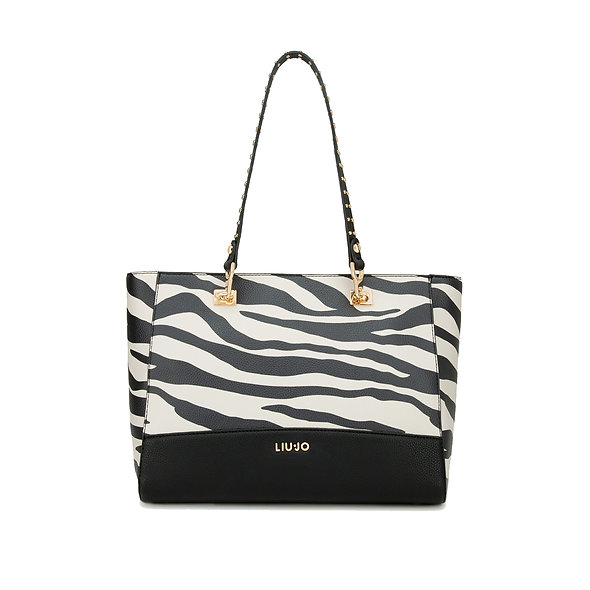 حقيبة يد LIUJO Zebra Shopper