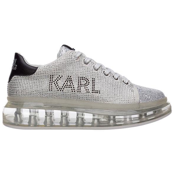حذاء Kapri Kushion الفضي | كارل لاغرفيلد
