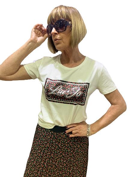 T-shirt avec logo LIUJO