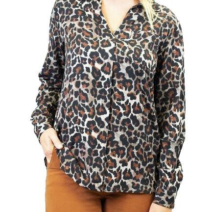 Chemise léopard | LA FEE MARABOUTEE