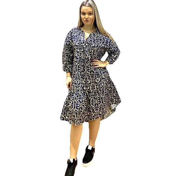 فستان LAUREN VIDAL مطبوع