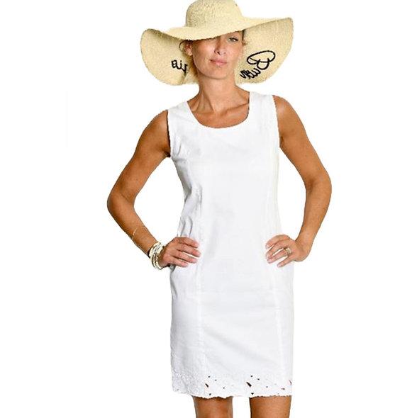فستان أبيض جليدي Meri Esca