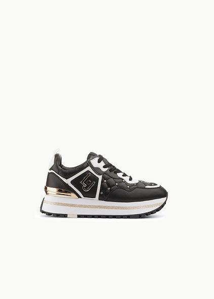 Sneakers Matelassées Avec Plateforme   LIUJO