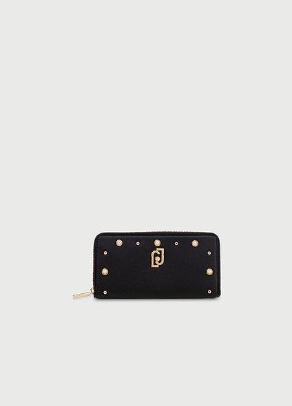 Portefeuille Grand Format noir | LIUJO