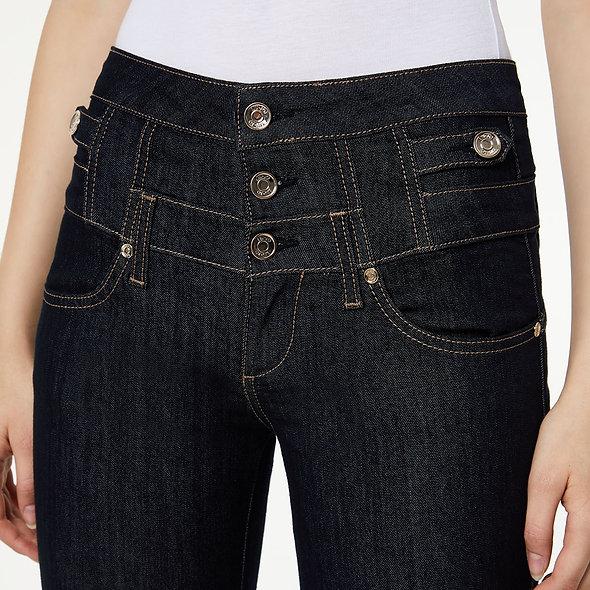 Pantalon skinny à taille haute Brut   LIUJO