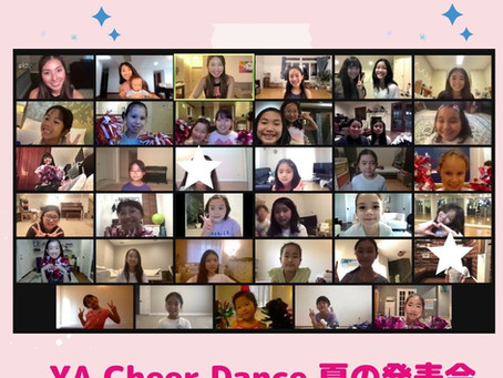 YA Cheer Dance 夏の発表会を開催しました