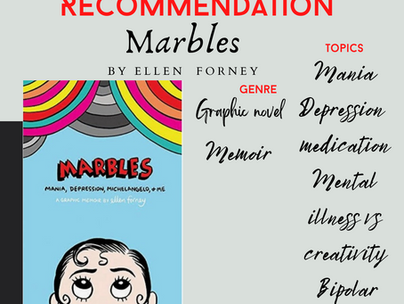 Mental Health Book Review -Marbles by Ellen Forney