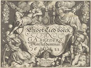 Serwouters 1622 Titelpagina voor Groot L
