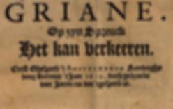 Brederoherdenkig Griane, Stichting Bredero 2018