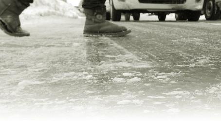 雪道で肩凝り・腰痛が続出中のわけ