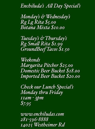 all day specials