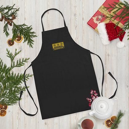 Redeemed Of The Quarantine Embroidered Apron