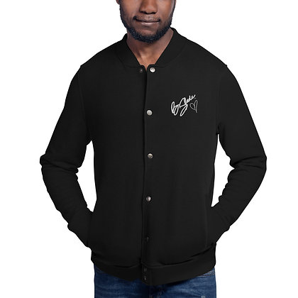 B.Slade Signature Series Embroidered Champion Bomber Jacket