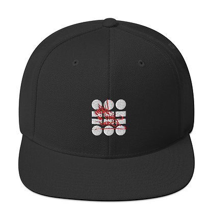 Mark O' The Beast Embroidered Snapback Hat