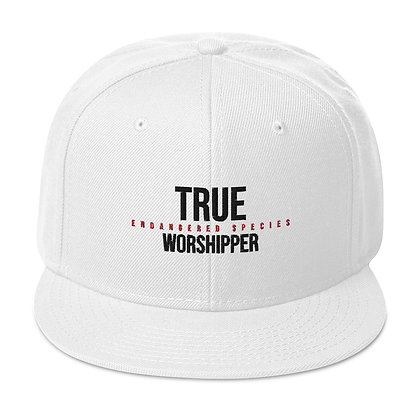 """True Worshiper: Endangered Species"" Embroidered Snapback Hat"