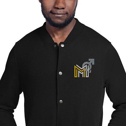 My Modern Manhood By B.Slade Embroidered Champion Bomber Jacket