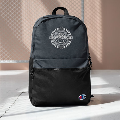 LIMITED EDITION Bapostogic Embroidered Champion Backpack