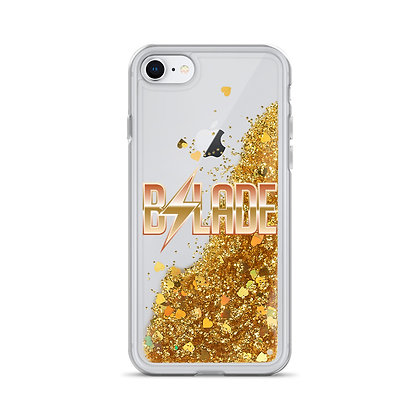"B.Slade ""Liquid Glitter Wild"" iPhone Case"