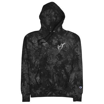 B.Slade Limited Signature Edition Champion tie-dye hoodie