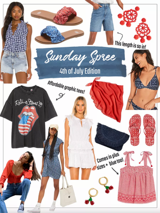 Shopping Spree: Fourth of July