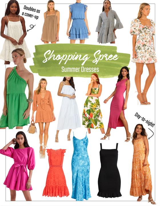 Shopping Spree: Summer Dresses