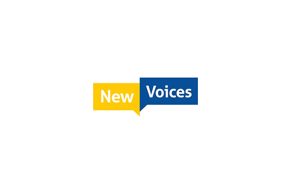 Logo, New Voices, Identity