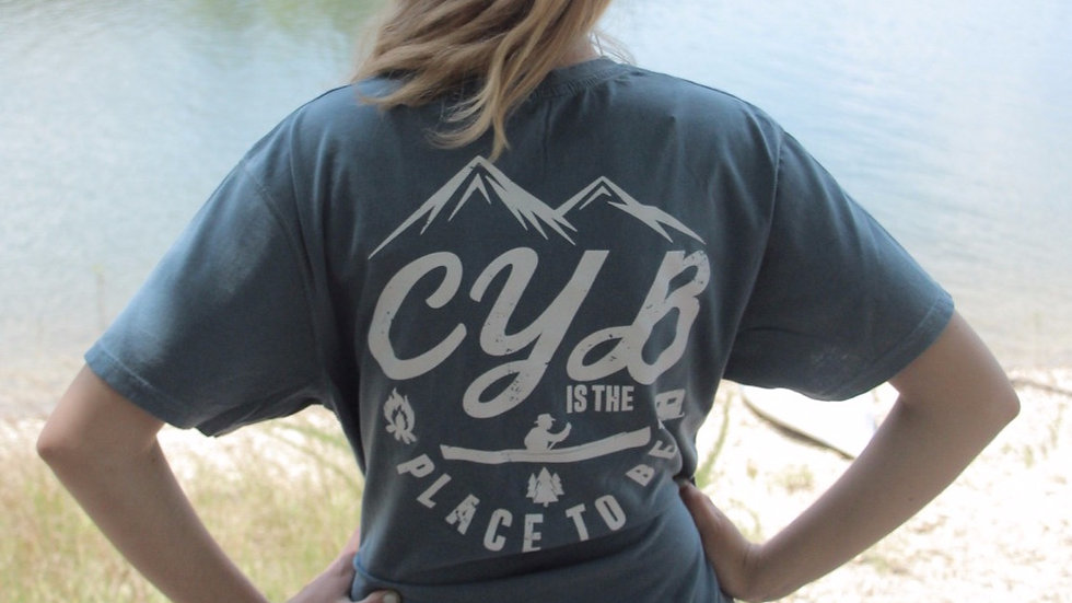 """CYB is the place to be"" T-shirt"