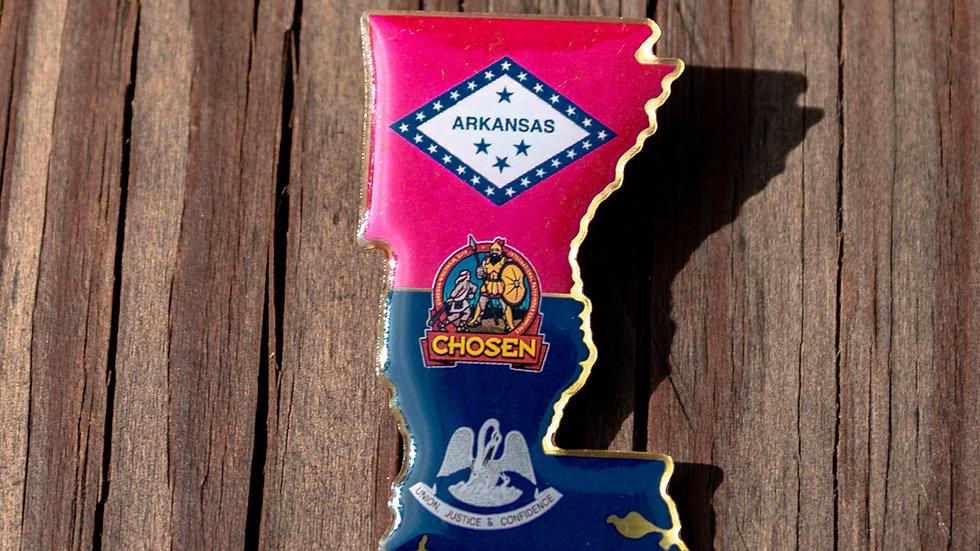 ARKLA OSHKOSH CHOSEN CAMPOREE PIN 2019