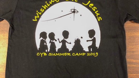 2019 Summer Camp Theme Shirt