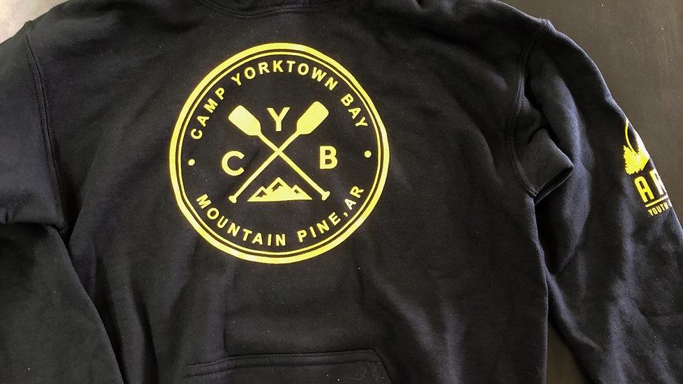 CYB Black hoodie