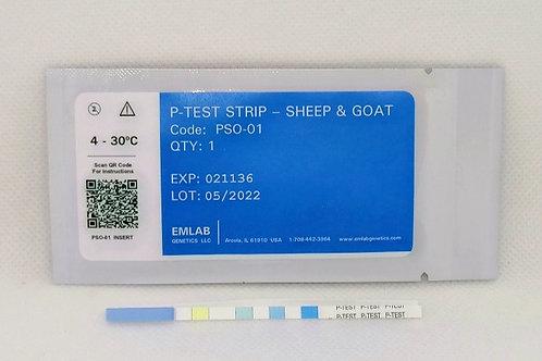 P-TEST™ STRIP - Sheep & Goat
