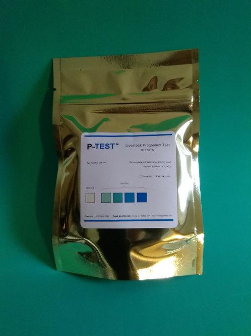 P-TEST (LIVESTOCK)   10 tests/pack