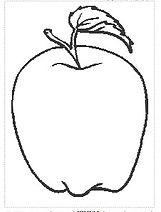 דפי צביעה תפוח בדבש