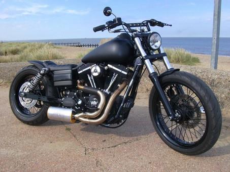 Harley Street Bob 'Black Out'