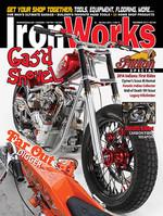 Gas'd Rat in Iron Works magazineCustom Harley Davidson Shovelhead 'Gas'd Rat'