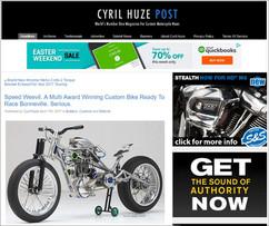 Cyril Huze Blog, USA