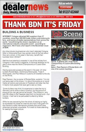 British Dealer News, UK
