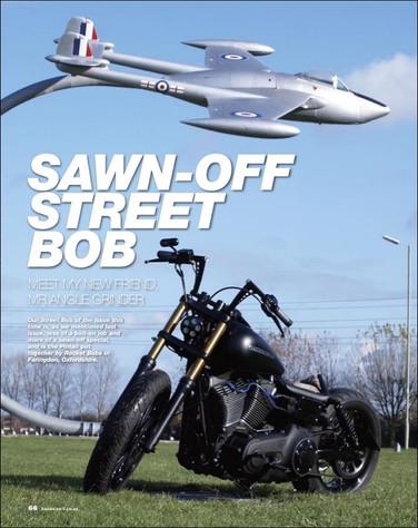 American V magazine, Sawn-Off Street Bob