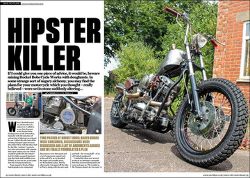 Hipster Killer in 100% Biker magazine