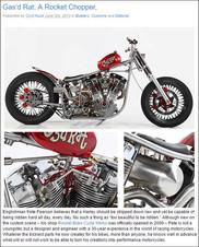 Gas'd Rat on Cyril Huze blogCustom Harley Davidson Shovelhead 'Gas'd Rat'