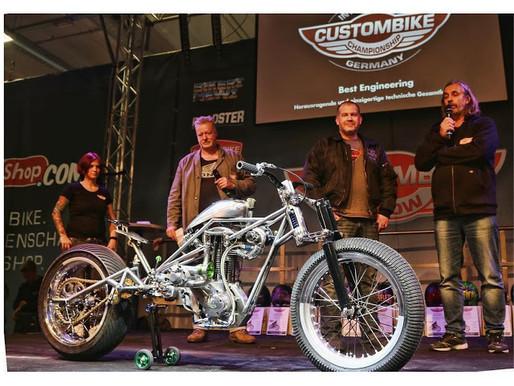 Speed Weevil takes Best Engineering at CustomBike 2016!