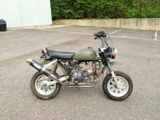 The new workshop Monkey Bike