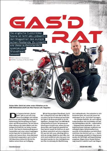 Gas'd Rat in Dream Machines magazine