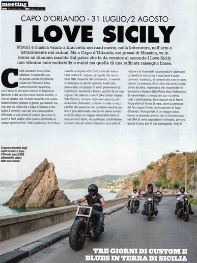 Lowride Magazine, Italy