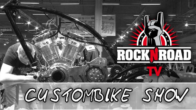 Custombike Show 2013Custom Harley Davidson Shovelhead 'Gas'd Rat'