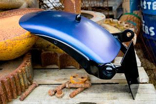 Harley Davidson Dyna Black Ice Voodoo Fender