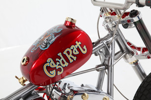 Custom Harley Davidson Shovelhead 'Gas'd Rat'
