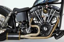 Bankrobber engine & exhaust