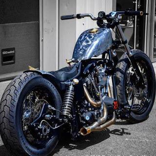 Harley Shovel love …