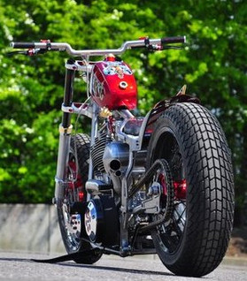 rocket bobs gasd rat, custom bike, custom harley davidson motorcycle